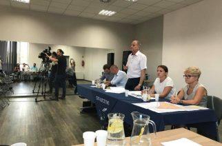 W ubiegły wtorek, 24 lipca, odbyło się spotkanie mieszkańców z przedstawicielami gminy i powiatu fot. P. Fikus