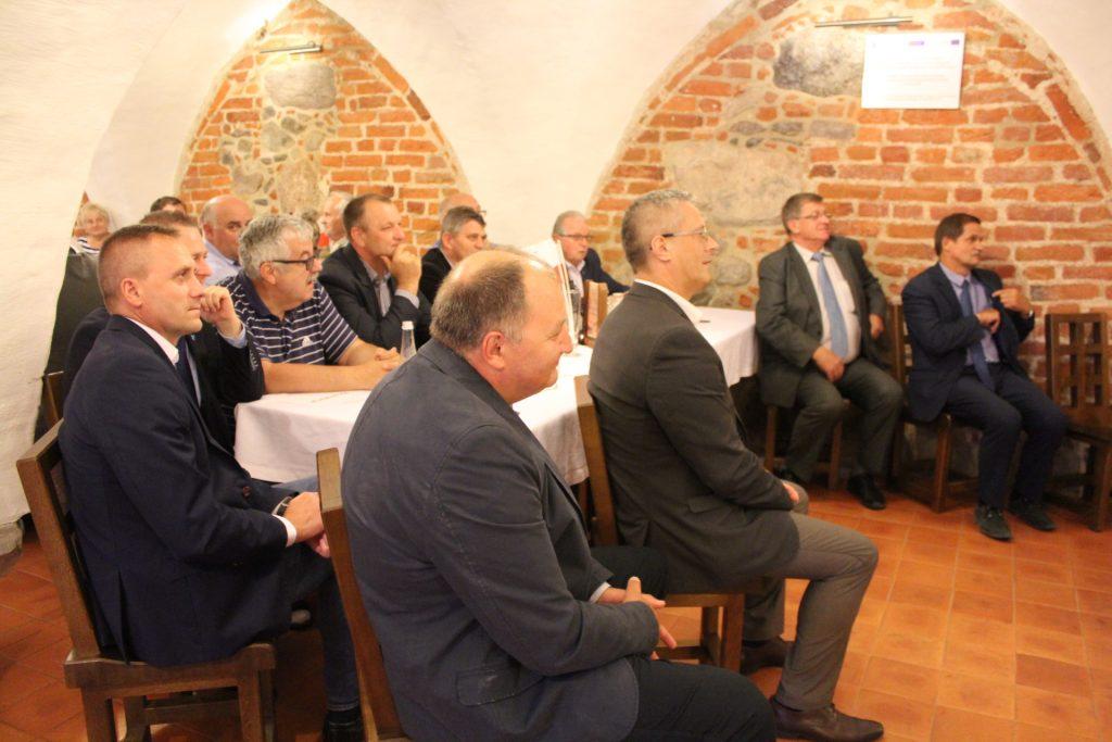 O poparciu Prawa i Sprawiedliwości dla Tomasza Belgraua poinformował Janusz Śniadek podczas spotkania w Kartuzach fot. P. Chistowski / zKaszub.info