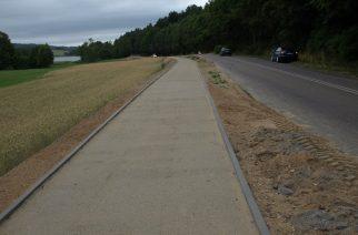 Trwa budowa ścieżki rowerowej na trasie Somonino – Ostrzyce
