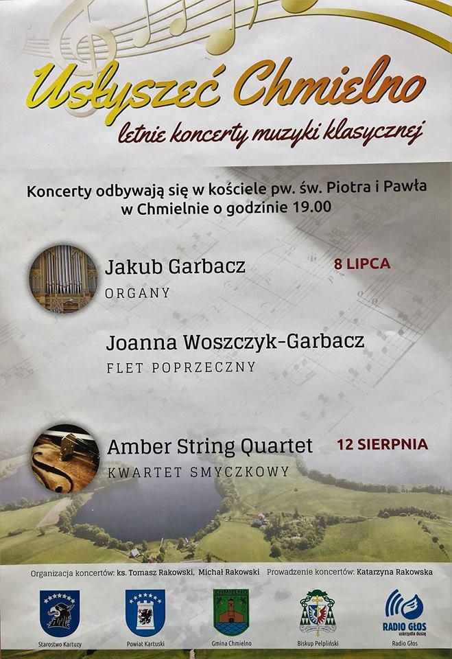 Usłyszeć Chmielno - letnie koncerty muzyki klasycznej