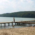 Nowe pomosty na jeziorze Ostrzyckim