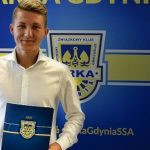Mateusz Młyński zadebiutował w Ekstraklasie i podpisał kontrakt z Arką Gdynia!