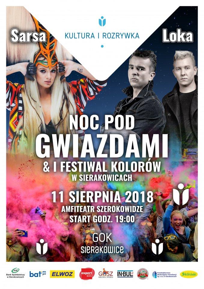 Noc pod Gwiazdami 2018 Sierakowice