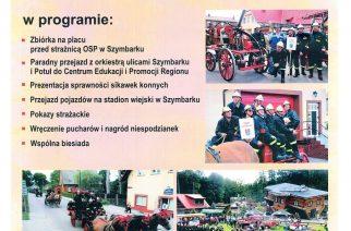 W niedzielne popołudnie ulicami Szymbarku przejedzie VI Wielka Parada Konnych Sikawek Strażackich!