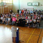 Społeczność SP w Kamienicy Królewskiej rozpoczęła nowy rok szkolny 2018/2019