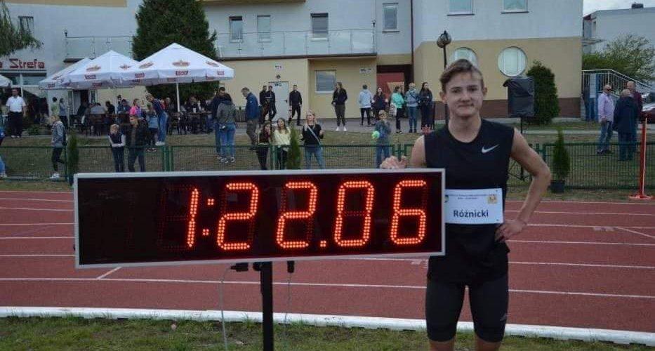 Krzysztof Różnicki z rekordem Polski!
