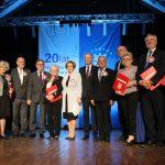 Uroczystą sesją uczczono 20-lecie działalności powiatu
