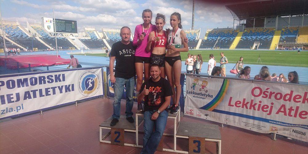 Julia Mikołajewska ze złotym medalem w Bydgoszczy