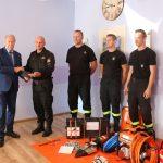 Jednostki OSP z gminy Chmielno otrzymały nowy sprzęt