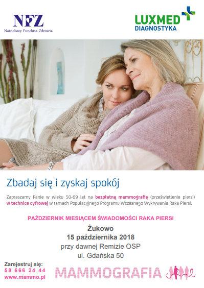 Mammografia w Żukowie