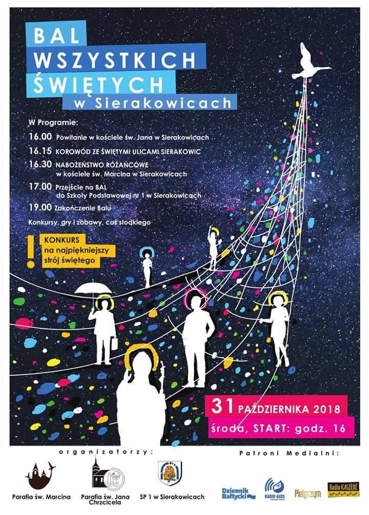 Bal Wszystkich Świętych w Sierakowicach