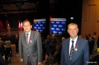 Stanisław Klimowicz i Mirosław Szutenberg odznaczeni przez Prezydenta RP