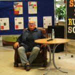 Młodzież z sierakowickiego ZSP spotkała się z Rudim Schuberthem