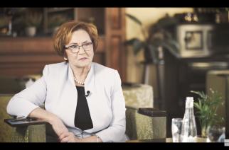 """Gościem programu """"Na dywaniku"""" była Janina Kwiecień, Starosta Powiatu Kartuskiego"""