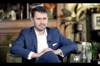 """Gościem programu """"Na dywaniku"""" jest Krystian Gachewicz, kandydat na Burmistrza Gminy Żukowo"""
