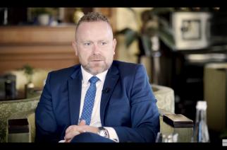 """Gościem programu """"Na dywaniku"""" jest Mariusz Treder, kandydat na Burmistrza Gminy Kartuzy"""