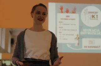 Marta Goluch przeprowadziła krótki kurs przedwyborczy fot. P.Ch. / zKaszub.info
