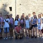 """Uczniowie """"Klasztornej"""" w Terni"""