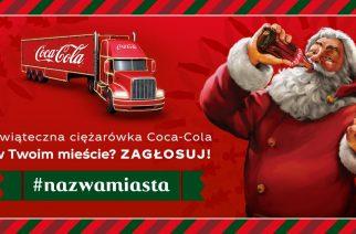 Ciężarówka Coca-Cola w powiecie kartuskim? Zagłosuj do 19 listopada!