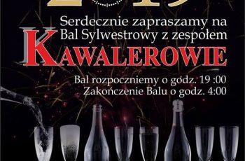 Sylwester 2019 z zespołem KAWALEROWIE