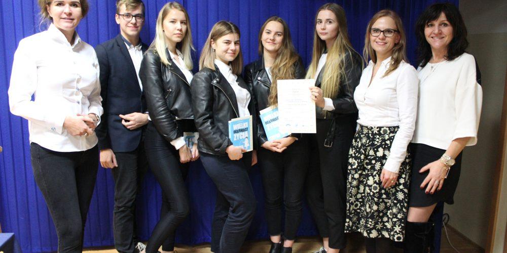 Reprezentanci ZSZiO w Kartuzach najlepsi podczas II Powiatowego Turnieju Debat Oksfordzkich [ZDJĘCIA]