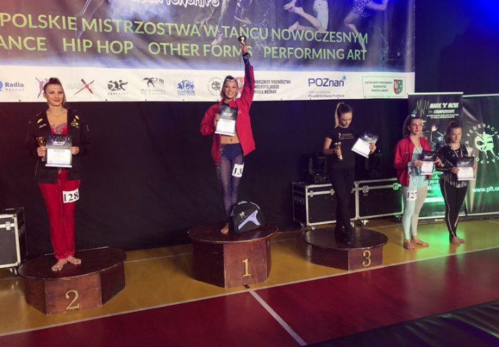 Jowita Dance Stężyca na IV Ogólnopolskich Mistrzostwach Tańca Nowoczesnego Mark 'N' Move [ZDJĘCIA]