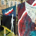 """Wystawa murali w ramach programu """"Wolność, Godność, Niepodległość"""""""