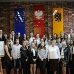 Zawody okręgowe IV Olimpiady Wiedzy i Umiejętności Handlowo-Menedżerskich [ZDJĘCIA]