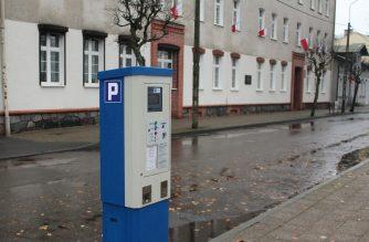 Nowy parkomat na parkingu przy ulicy Klasztornej, naprzeciwko ZSO fot. zKaszub.info