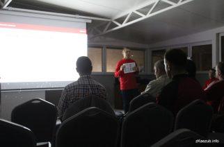 Pokazowy trening Akademii Młodych Orłów w Kartuzach