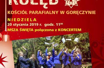 Koncert kolęd w Goręczynie