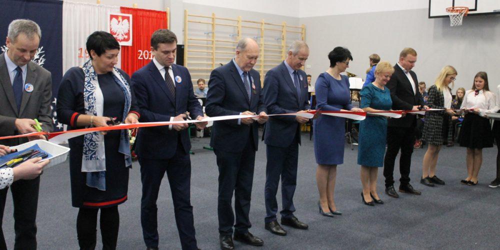 Sala gimnastyczna w Kożyczkowie oficjalnie otwarta!