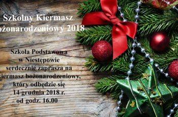 Szkolny Kiermasz Bożonarodzeniowy 2018