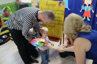 Najmłodsi pasowani na żłobkowicza w GUCIO w Kiełpinie