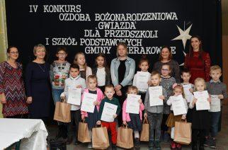"""W Łyśniewie Sierakowickim zakończono konkurs """"Ozdoba bożonarodzeniowa- GWIAZDA"""""""