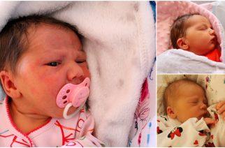 Martyna, Julia i Liliana pierwszymi dziećmi narodzonymi w 2019 roku!