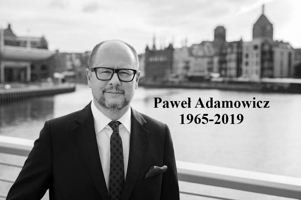 adamowicz żałoba