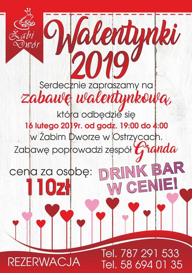 Walentynki w Żabim Dworze!