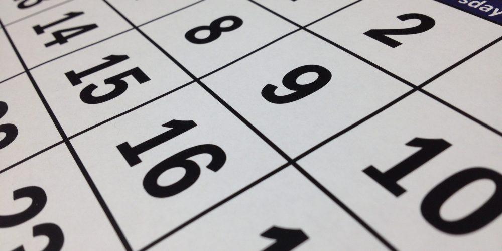 Kiedy wziąć urlop? Sprawdź kalendarz dni wolnych w 2019!