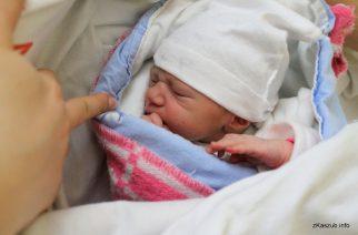 Przyszli na świat… Dzieci urodzone w kartuskim szpitalu [2019.01.25]