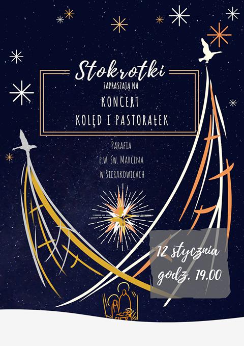 Koncert kolęd i pastorałek w wykonaniu Stokrotek