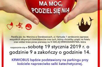 Akcja krwiodawstwa w Sierakowicach