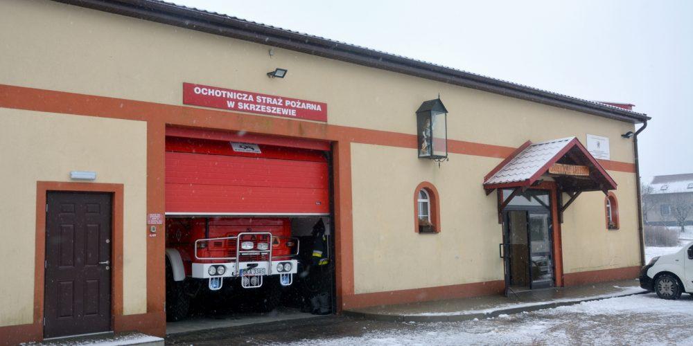 Ruszyły prace przy rozbudowie budynku OSP w Skrzeszewie