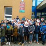 Uczniowie z Pomieczyna podróżowali śladami swojego patrona