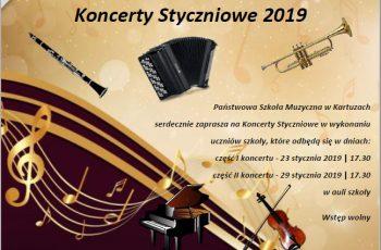 Koncerty Styczniowe PSM w Kartuzach
