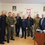 Przedstawiciele Akademii Marynarki Wojennej spotkali się z Wójtem Gminy Somonino
