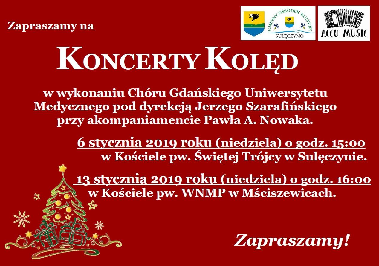 Koncert kolęd w Mściszewicach