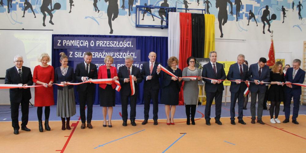 Sala gimnastyczna w Miszewie oficjalnie otwarta