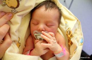 Przyszli na świat… Dzieci urodzone w kartuskim szpitalu [2019.02.22]