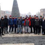 Zapaśnicy Cartusii na zgrupowaniu kadry narodowej w Armenii